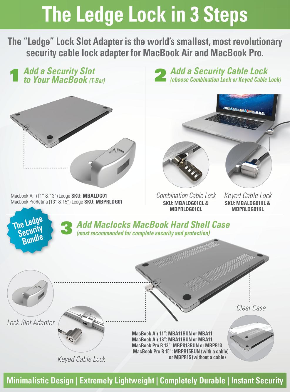 MacBook Lock Slot Adapter